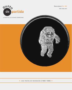 Nadja Lozano en la portada de la revista literaria Punto de Partida de la UNAM.
